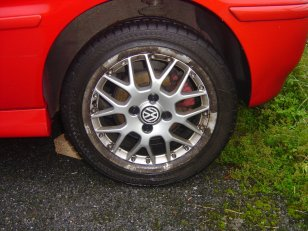 Wheel - before 